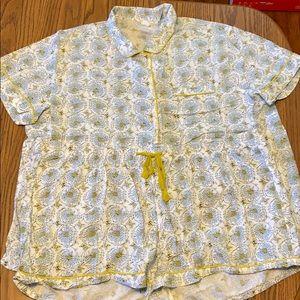 Pajama shorts set